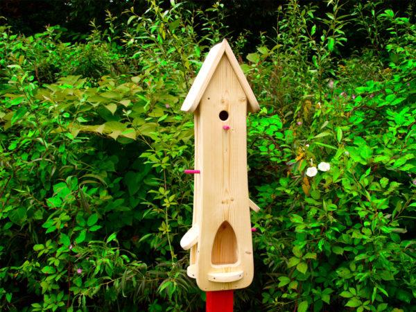 Vogelhaus Bausatz Vogelhaus bemalen