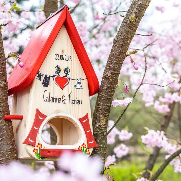Vogelhaus Hochzeit Vogelvilla