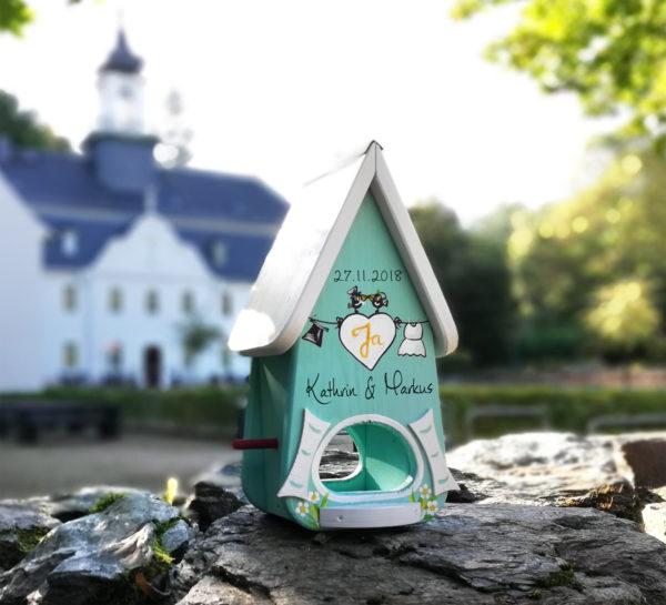 Vogelhaus Hochzeit Geschenkidee