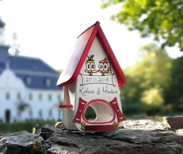 Vogelhaus Hochzeit