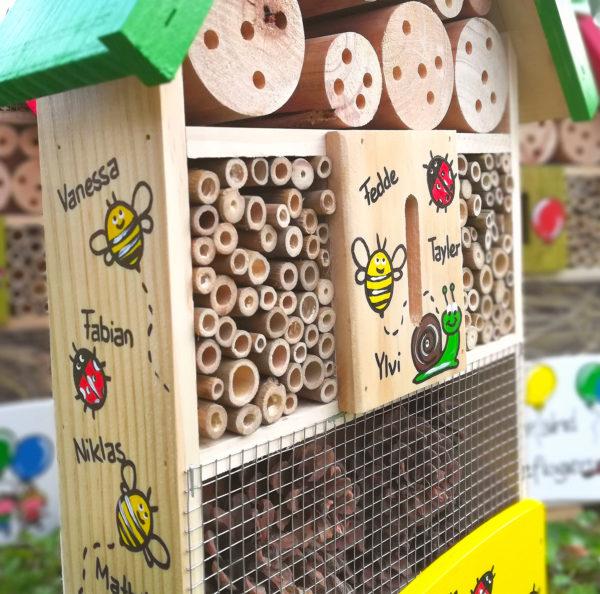 Geschenkidee Insektenhotel