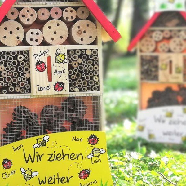 Insektenhotel Kindergarten Abschiedsgeschenk