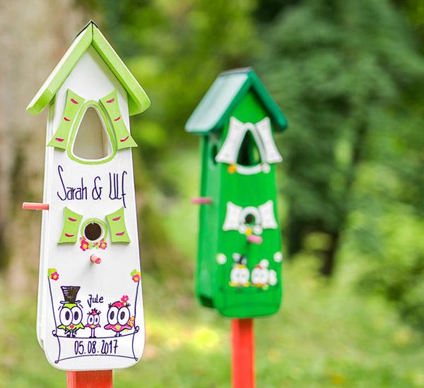 Vogelhaus XL Hochzeitsgeschenk