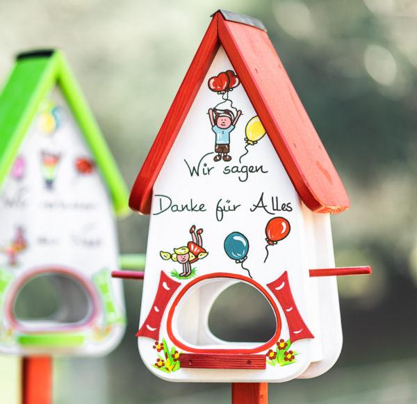 Kindergarten Abschiedsgeschenk Vogelvilla