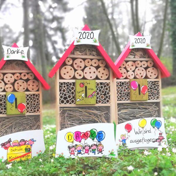 Insektenhotel Kinder Luftballons