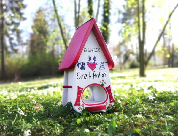 Vogelhaus Hochzeit die geschenkidee