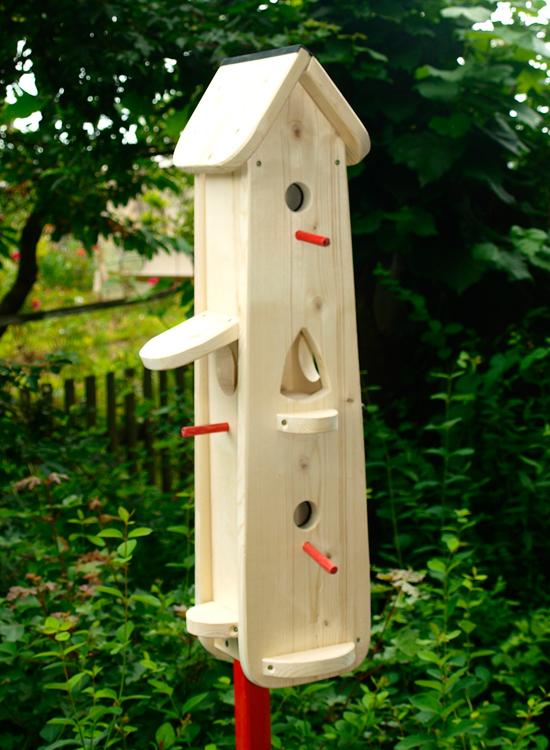 Vogelhaus bemalen Bausatz für Kinder