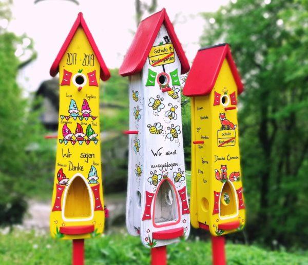 Kindergarten Abschied Vogelhaus Bienen