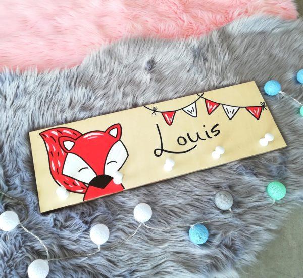 Garderobe Kinderzimmer Fuchs