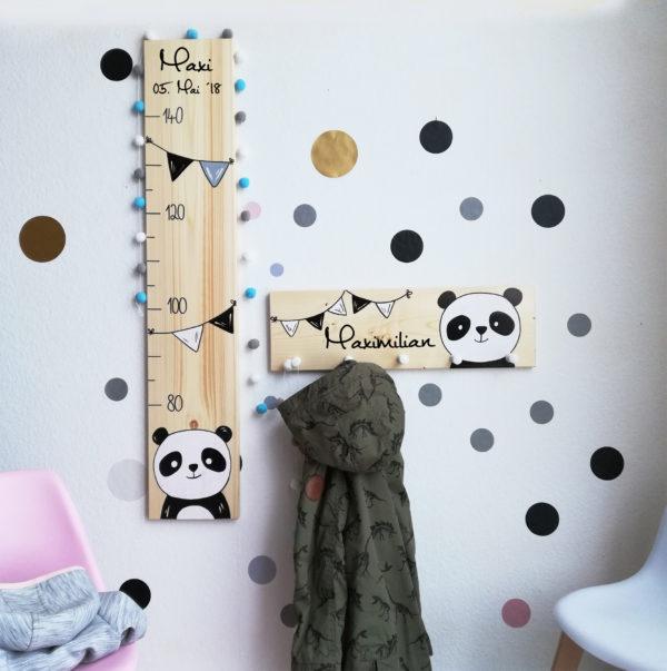 Kindergarderobe Panda