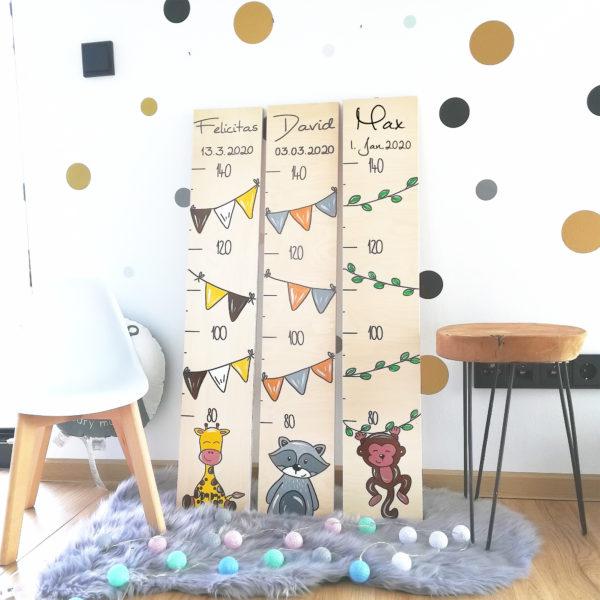 Messlatte Kinderzimmer