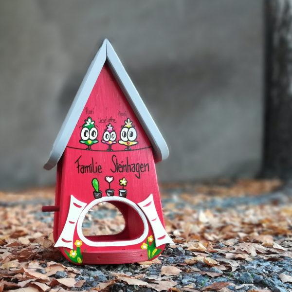 Vogelvilla Einzugsgeschenk