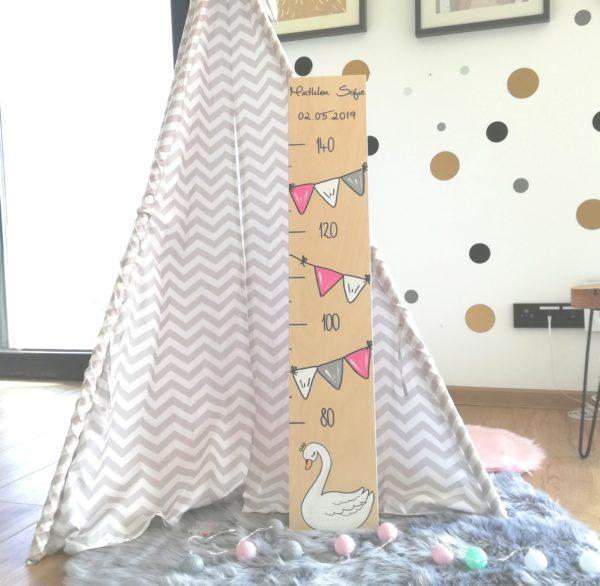 Messlatte mit namen Kinderzimmer