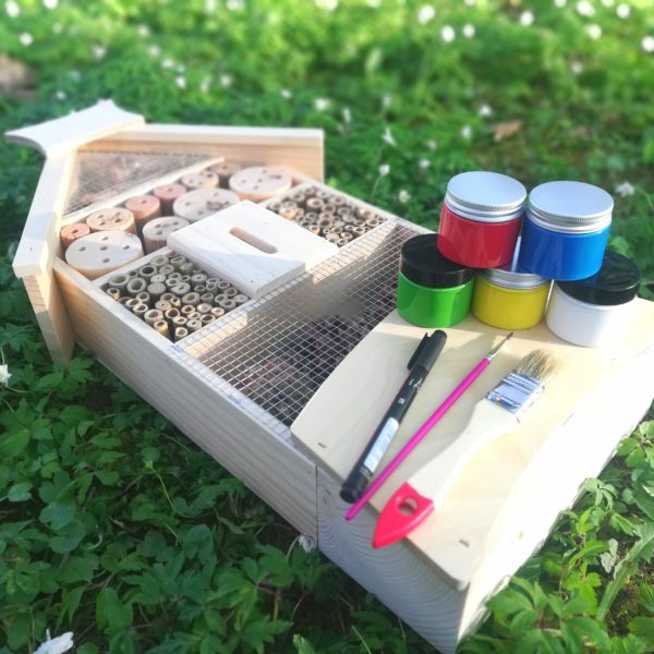 Insektenhotel bausatz selbst bemalen Set