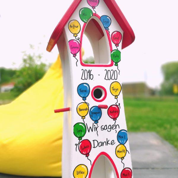 Kindergarten Abschiedsgeschenk Luftballons