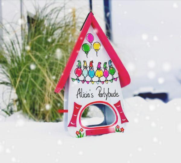 Vogelhaus Geschenk verschenken zum Geburtstag