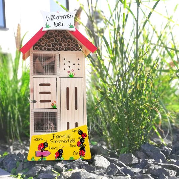 Insektenhotel Geschenk Vogelvilla