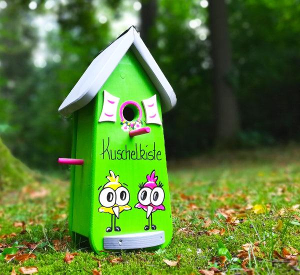 Vogelhaus lustiges geschenk