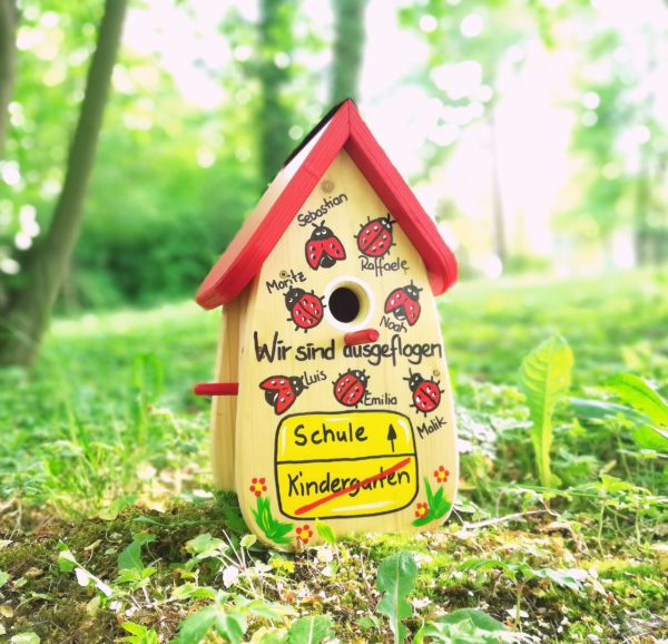Kindergarten Abschiedsgeschenk Marienkäfer