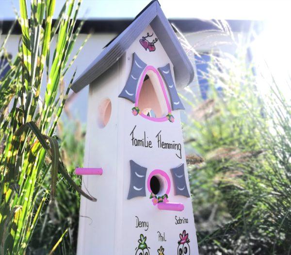 Geschenk für die Familie Vogelvilla originelles geschenk zum runden Geburtstag