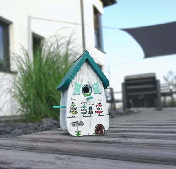 Vogelhaus geschenk persönlich und kreativ
