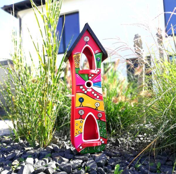 Hundertwasser Vogelvilla Kreativ Villa Hochzeitsgeschenk