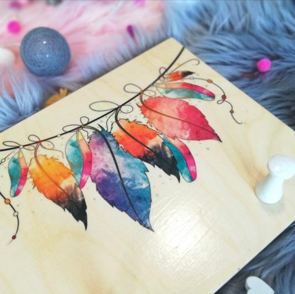 Kindergarderobe Boho Style Geschenk zur Geburt