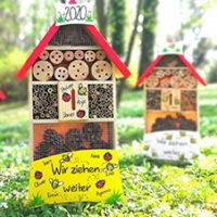 Insektenhotel Kindergarten Geschenk Abschiedsgeschenk