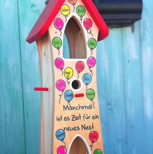 Kindergarten Abschied geschenk lehrerin Luftballons