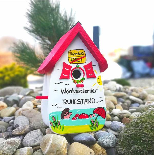 Abschied Kollege Geschenk zur Rente Abschied Arbeitskollege Vogelhaus